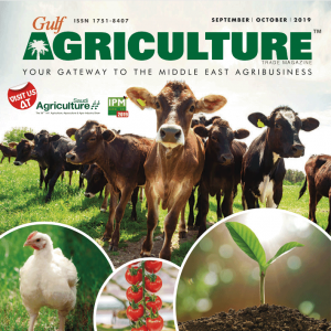Sept-Oct 2019 edition- Gulf Agriculture Cover